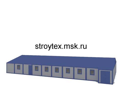 модульно здание столовая
