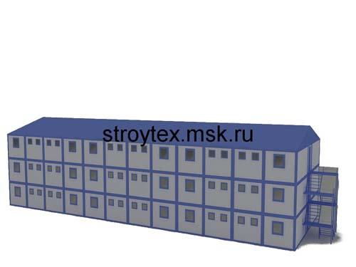 модульно здание общежитие